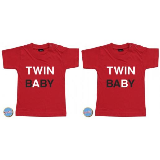 Baby T Shirt Twin A/B