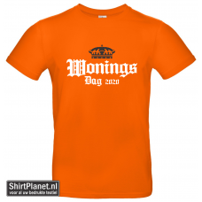 Shirt Koningsdag 2020 oranje