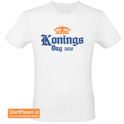Shirt Koningsdag 2020 wit