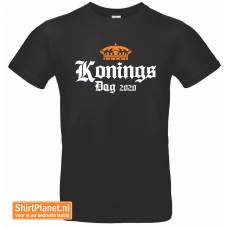Shirt Koningsdag 2020 zwart