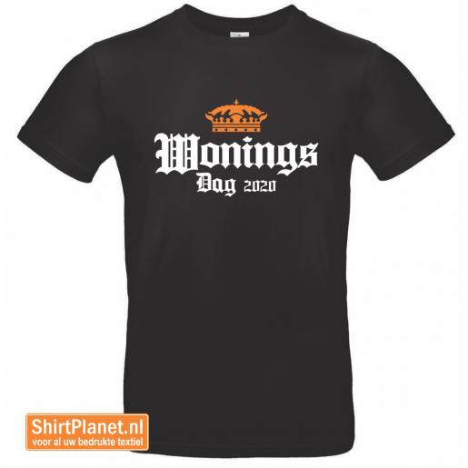Shirt Woningsdag 2020 zwart