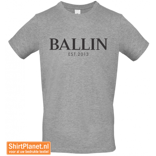 Ballin est.2013 shirt heather grey