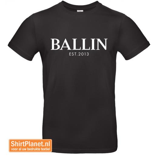 Ballin est.2013 shirt zwart