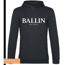 Ballin est.2013 sweater hooded asphalt grey
