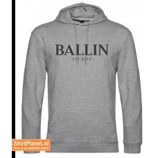 Ballin est.2013 sweater hooded heather grey
