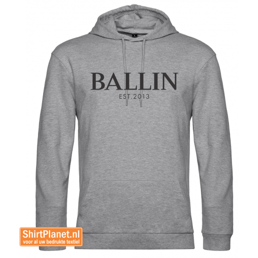 Ballin est.2013 sweater hooded heather grey