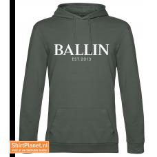 Ballin est.2013 sweater hooded khaki