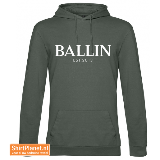 Ballin est.2013 sweater hooded khaki