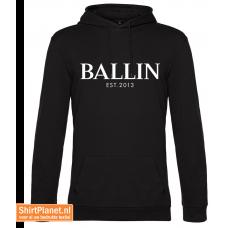 Ballin est.2013 sweater hooded zwart