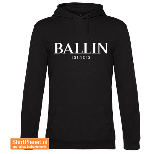 Ballin est.2013 sweater hooded zwart