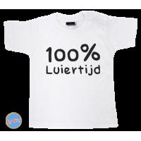 Baby T Shirt 100% Luiertijd