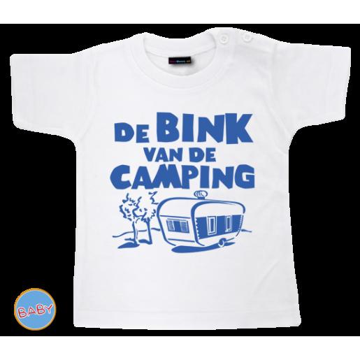 Baby T Shirt Bink van de camping