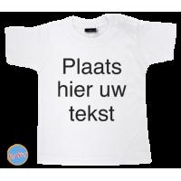 Baby T Shirt eigen tekst