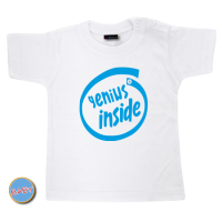 Baby T Shirt Genius Inside