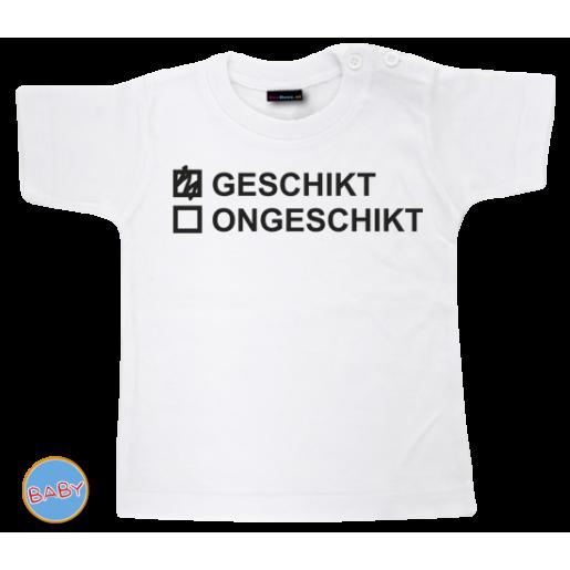 Baby T Shirt Geschikt