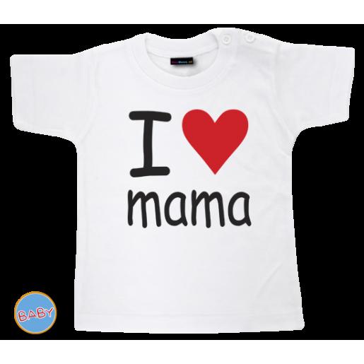 Baby T Shirt I love mama