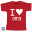 Baby T Shirt I love oma