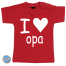 Baby T Shirt I love opa