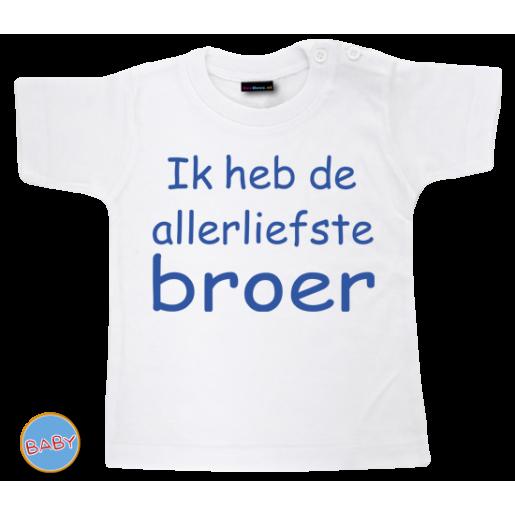 Baby T Shirt Ik heb de allerliefste broer