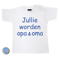 Baby T Shirt Jullie worden opa & oma
