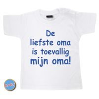 Baby T Shirt Liefste oma