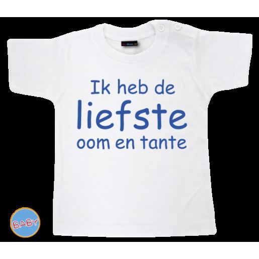 Baby T Shirt Ik heb de liefste oom en tante