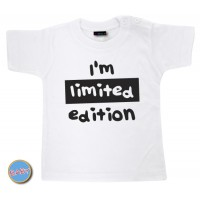 Baby T Shirt I'm Limited Edition