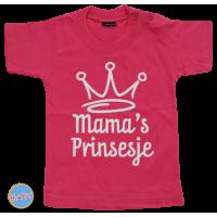 Baby T Shirt Mama's prinsesje
