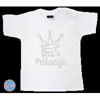 Baby T Shirt Opa´s Prinsesje