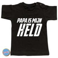 Baby T Shirt Papa is mijn held