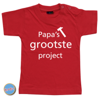 Baby T Shirt Papa's grootste project