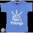 Baby T Shirt Papa's prinsesje