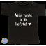 Baby T Shirt Mijn tante is de liefste