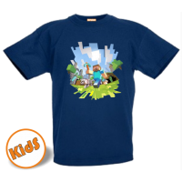 Kinder Mine craft t shirt ver 2.0