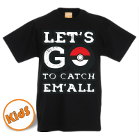 Kinder Pokemon GO t shirt