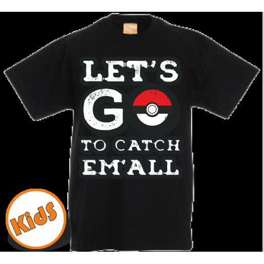Kinder Pokemon GO t shirt
