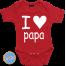 Romper I Love Papa