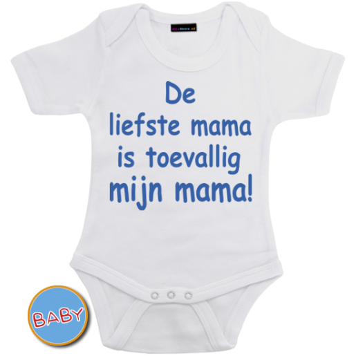 Romper De liefste mama is toevallig mijn mama!