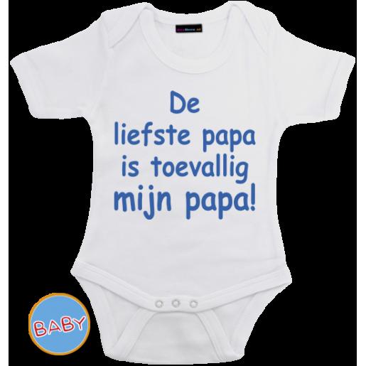 Romper De liefste Papa is toevallig mijn Papa