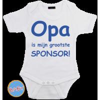Romper Opa is mijn grootste sponsor