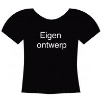Eigen ontwerp op een T-shirt