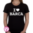 Dames T-shirt I love Barca