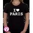 Dames T-shirt I love Paris