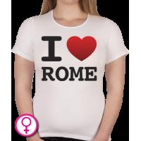 Dames T-shirt I love Rome