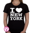 Dames T-shirt I love New York