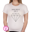 Dames T-shirt Shine Like A Diamond