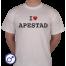 Heren T-shirt I love Apestad