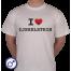 Heren T-shirt I love IJsselstein (languit geschreven)