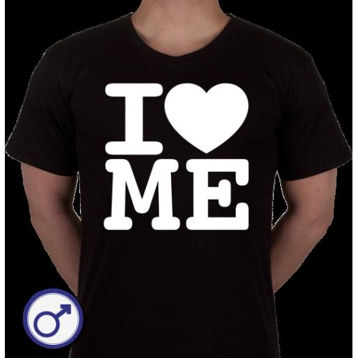 Heren T-shirt I love Me