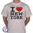 Heren T-shirt I love New York